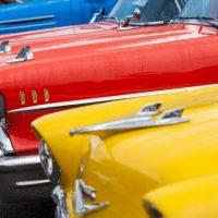 Classic Cars on Third Street
