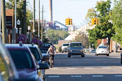 Downtown Marquette - Third Street