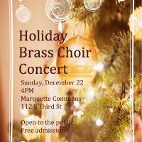 Holiday Brass Choir Concert