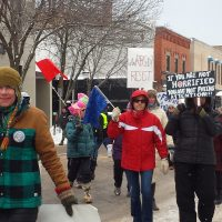 Fourth Womens' March UP - Marquette