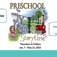 Preschool Storytime: Facebook Live