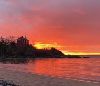 Marquette Lighthouse Sunrise Lighthouse Tours