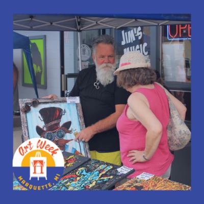 ART WEEK Downtown Art Market