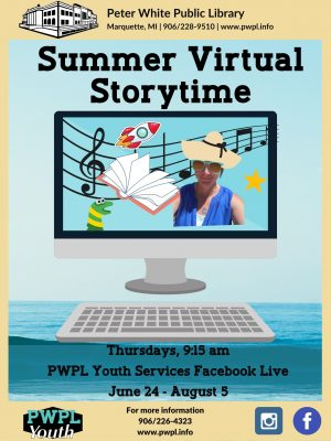 Tails & Tales Virtual Storytime: Facebook Live...
