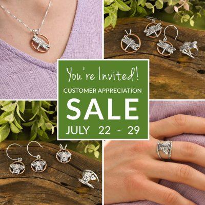 Beth Millner Jewelry Customer Appreciation Sale