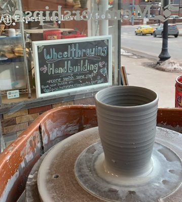 6-Week Pottery Wheel Class (Sundays)