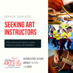 Seeking Art Instructors